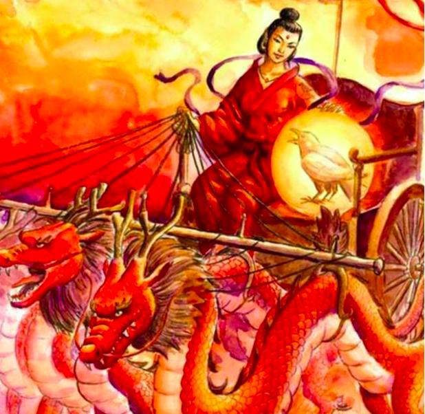 后羿射下的九個太陽原來是傳說中的神鳥